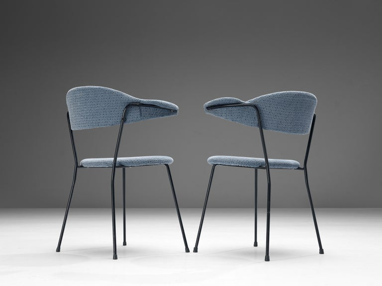 Vittorio Chiaia and Massimo Napolitano for Arflex Set of Six Armchairs For Sale 1