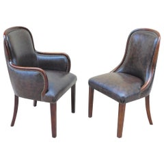 Set of Six Argentine Art Moderne Dining Chairs, circa 1940
