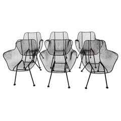 Set of Six Armchairs by Russell Woodard