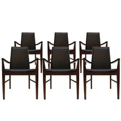 Set of Six Armchairs Edited by Dyrlund