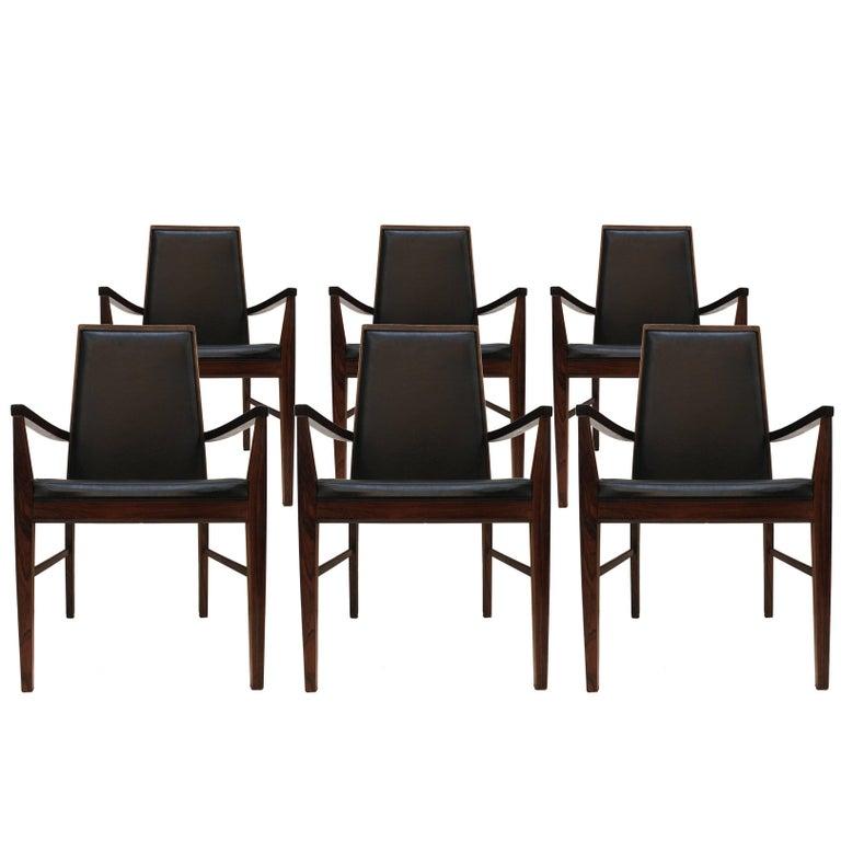 Set of Six Armchairs Edited by Dyrlund