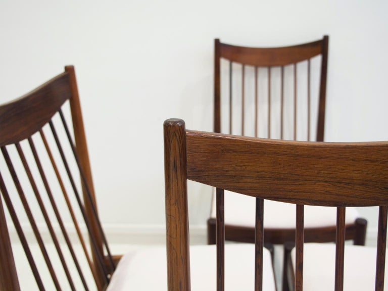 20th Century Set of Six Arne Vodder Dining Chairs, Model 422 For Sale