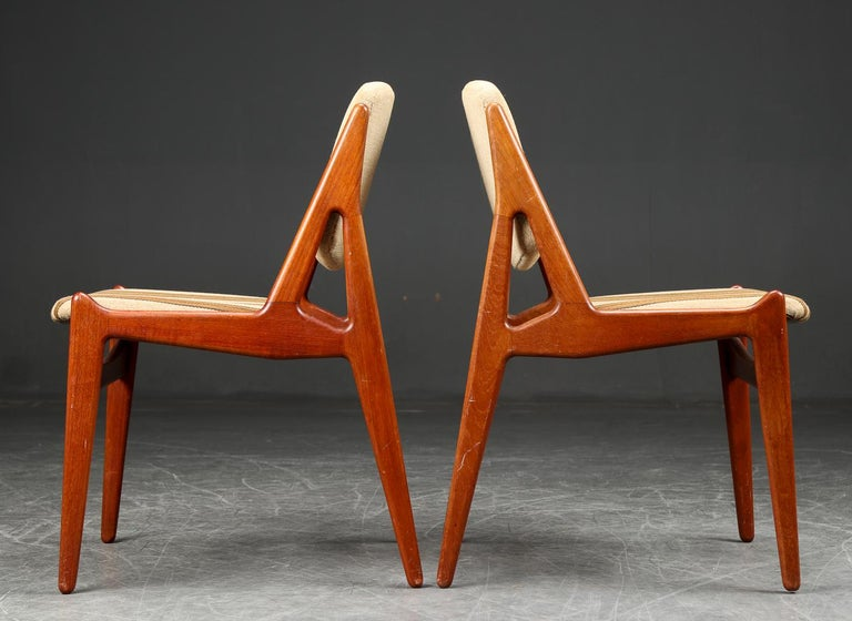 Mid-Century Modern Set of Six Arne Vodder