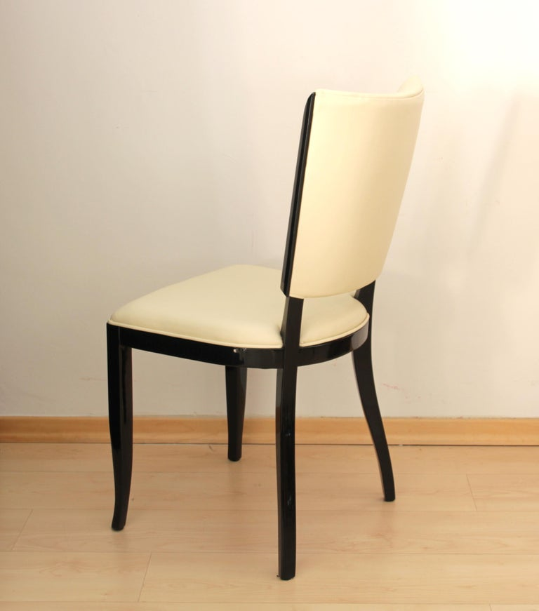 Set of Six Art Deco Dining Chairs, France, circa 1930 In Excellent Condition For Sale In Regensburg, DE