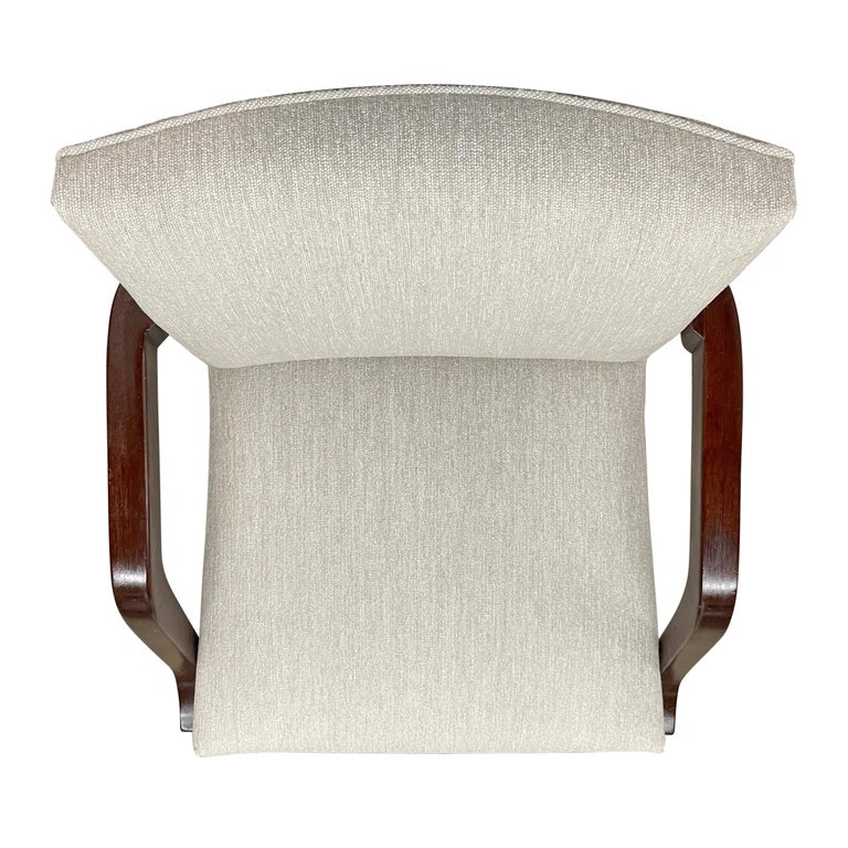 Set of Six Art Deco Herman Miller Dining Chairs For Sale 4