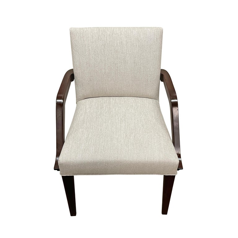 Set of Six Art Deco Herman Miller Dining Chairs In Good Condition For Sale In Chicago, IL