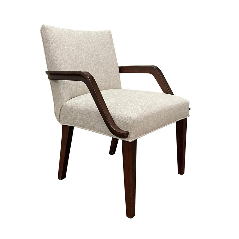 Mid-20th Century Set of Six Art Deco Herman Miller Dining Chairs For Sale