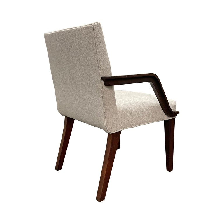 Set of Six Art Deco Herman Miller Dining Chairs For Sale 1
