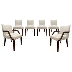 Set of Six Art Deco Herman Miller Dining Chairs