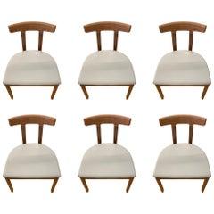 Set of Six Bensen Armless Chair