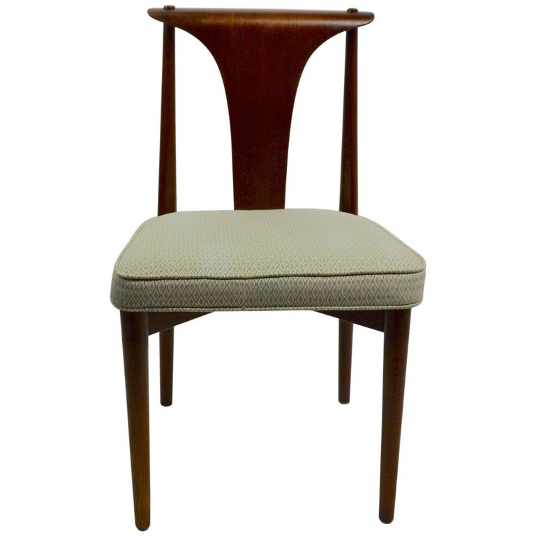 Set of Six Bent Plywood Dining Chairs by Lawerence Peabody