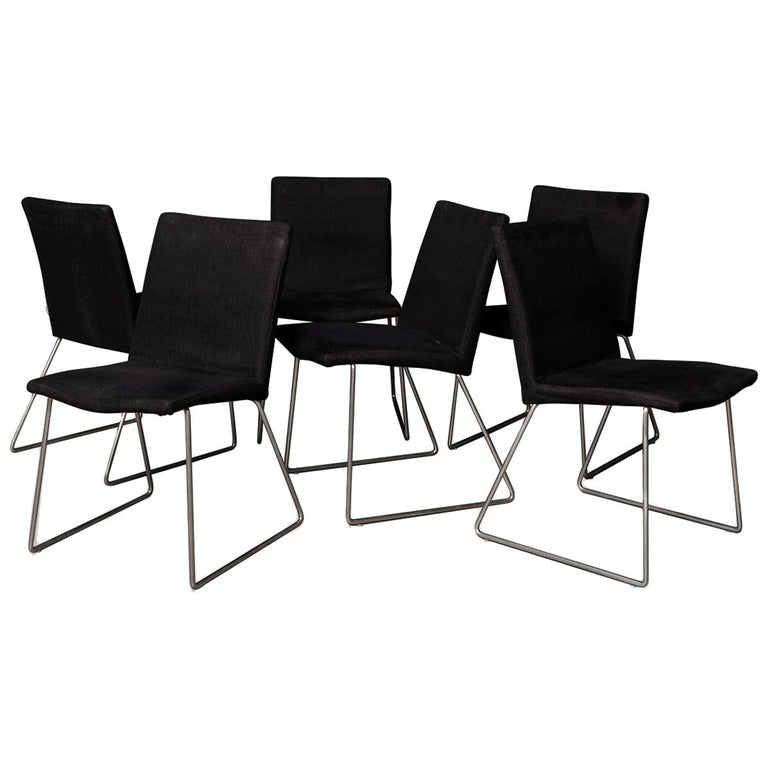 Set of Six BoConcept Dining Chairs, Denmark, circa 2000 For Sale