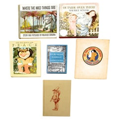 Set of Six Books with Illustrations by Maurice Sendak