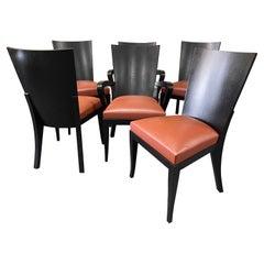 "Set of Six ""Cadette"" Dining Chairs by Dakota Jackson"