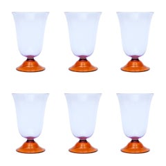 Set of Six Campbell-Rey Cosimo Murano Highballs