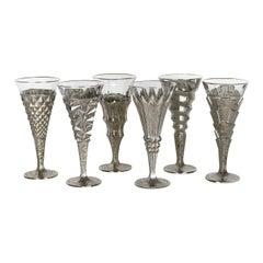 Set of Six Capriccio Champagne Flutes
