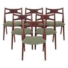 Set of Six CH 29 Chairs by Hans J. Wegner