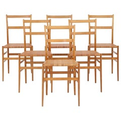 Set of Six Chairs by Gio Ponti