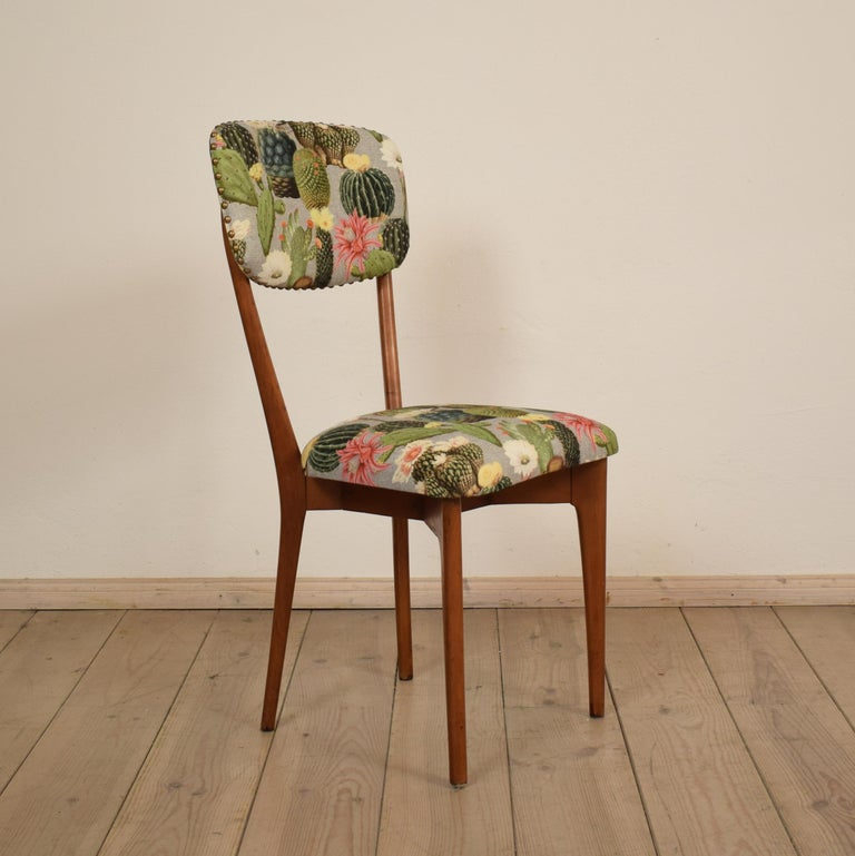 Set of Six Chairs by Ico Parisi Model
