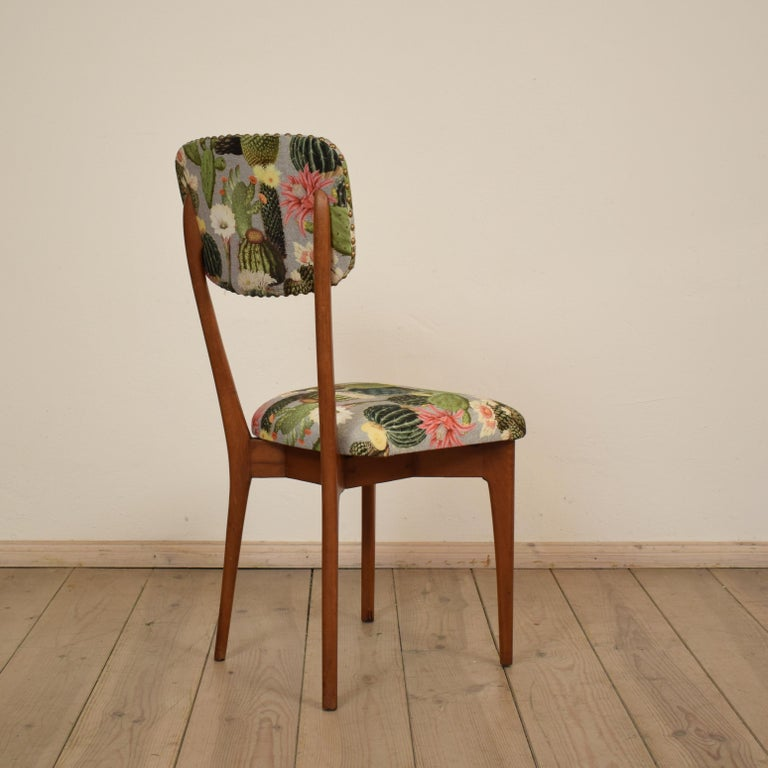 Mid-20th Century Set of Six Chairs by Ico Parisi Model