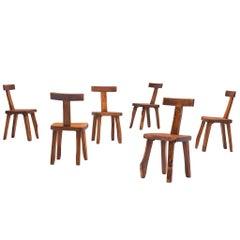 Set of Six Chairs by Olavi Hänninen