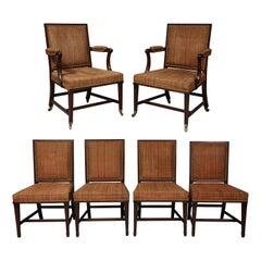 Set of Six Chairs, Possibly by Thomas Chippendale Jr.
