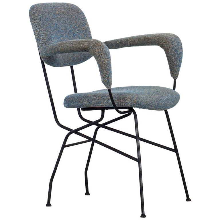 "Set of Six ""Cocorita"" Chairs, Design by Gastone Rinaldi For Sale"