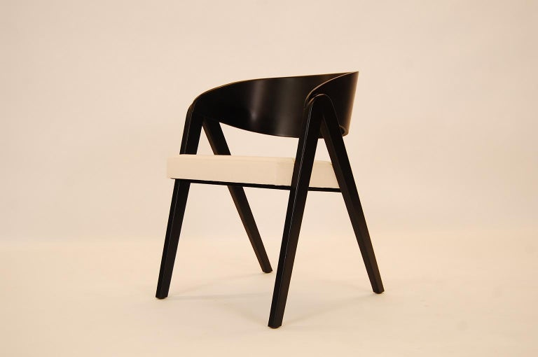 American Set of Six Compass Dining Chairs Designed by Allan Gould For Sale