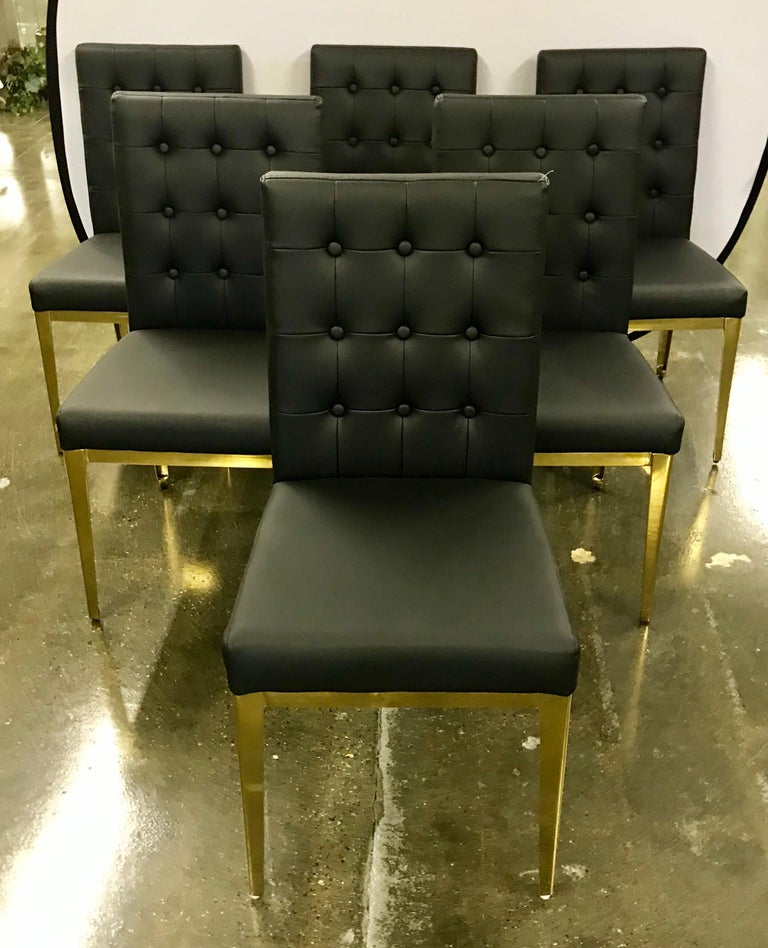 Black Leather Dining Chairs, Black Leather Dining Room Chairs