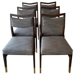 Set of Six Custom Made Dining Chairs