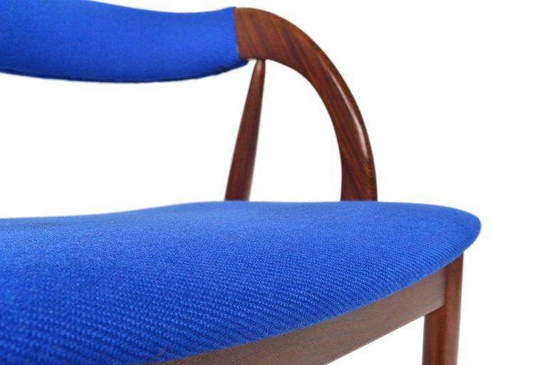 Set of Six Danish Mid-Century Modern Walnut Dining Chairs In Good Condition In Berkeley, CA