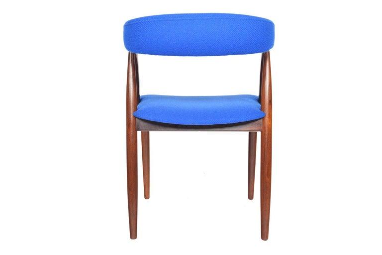 Set of Six Danish Mid-Century Modern Walnut Dining Chairs 2