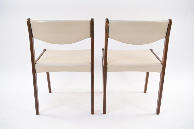 Set of Six Danish Midcentury Rosewood Dining Chairs by Sax 7
