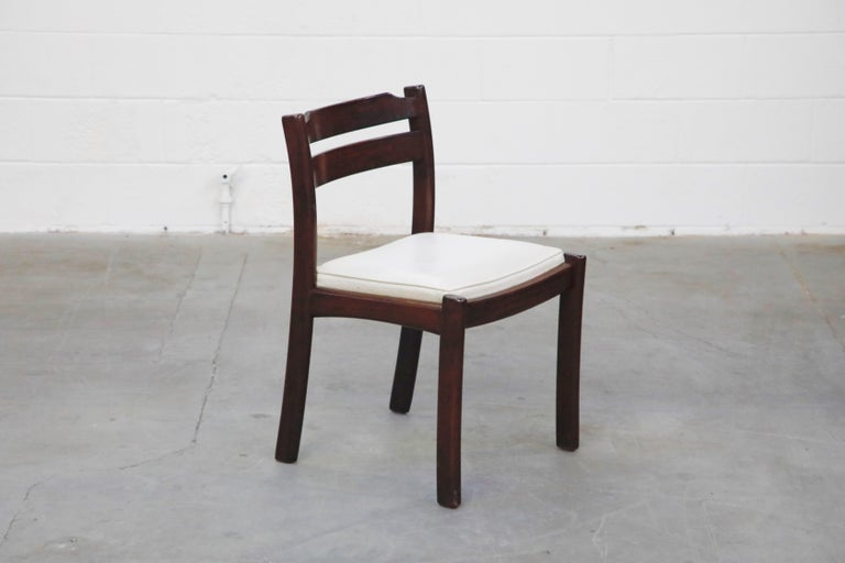 Set of Six Danish Modern Rosewood Dining Chairs by Dyrlund, circa 1960s, Signed 5