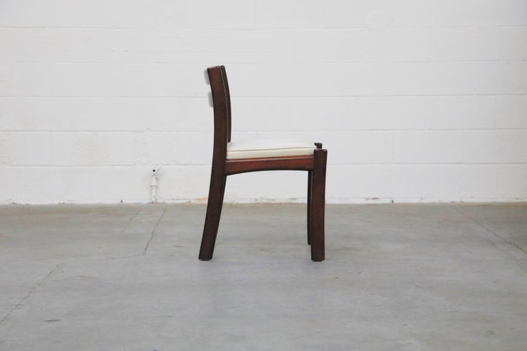 Set of Six Danish Modern Rosewood Dining Chairs by Dyrlund, circa 1960s, Signed 6