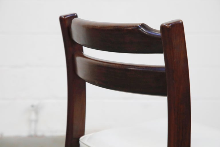 Set of Six Danish Modern Rosewood Dining Chairs by Dyrlund, circa 1960s, Signed 12