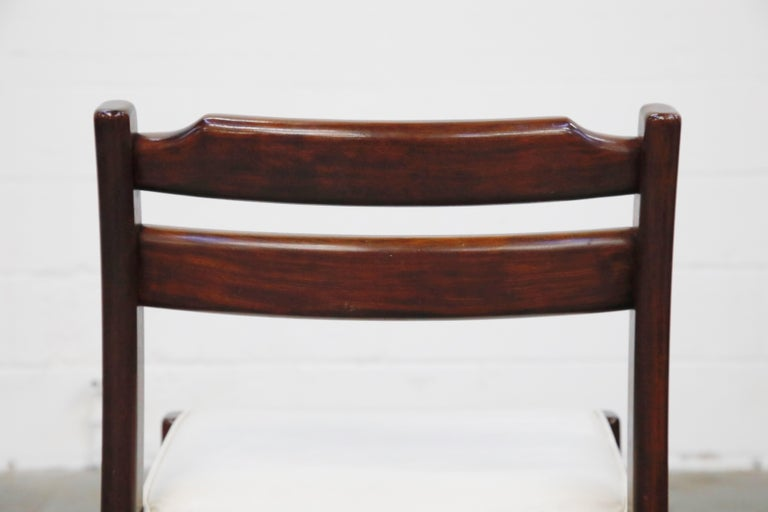 Set of Six Danish Modern Rosewood Dining Chairs by Dyrlund, circa 1960s, Signed 14
