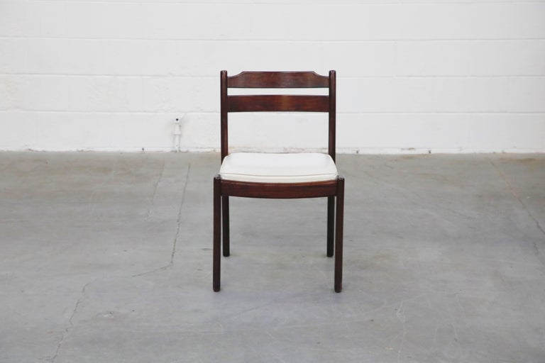 Set of Six Danish Modern Rosewood Dining Chairs by Dyrlund, circa 1960s, Signed 2