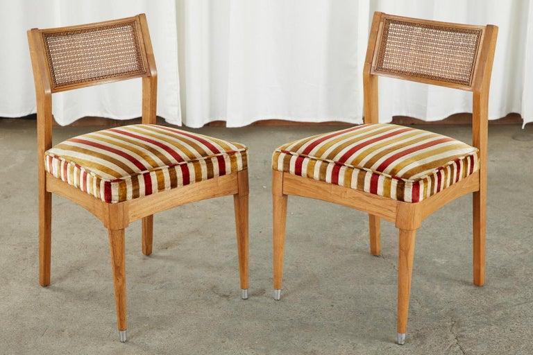 Set of Six Danish Modern Style Walnut Dining Chairs 4