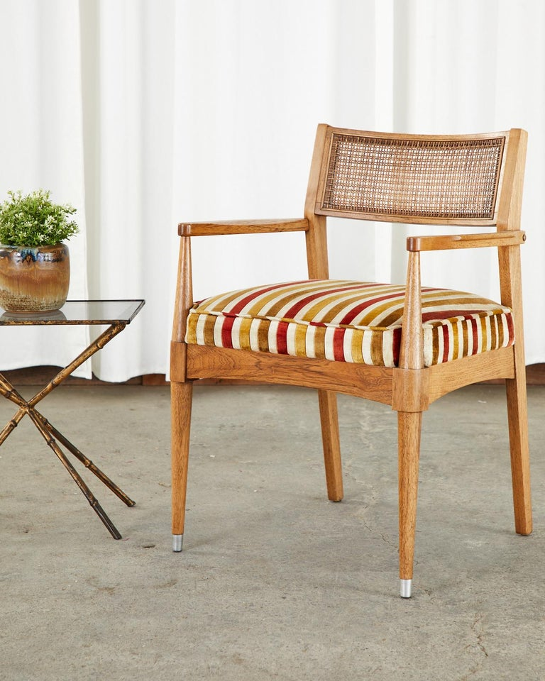 Set of Six Danish Modern Style Walnut Dining Chairs 11