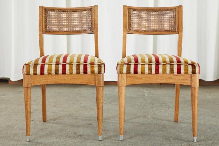 Set of Six Danish Modern Style Walnut Dining Chairs 12