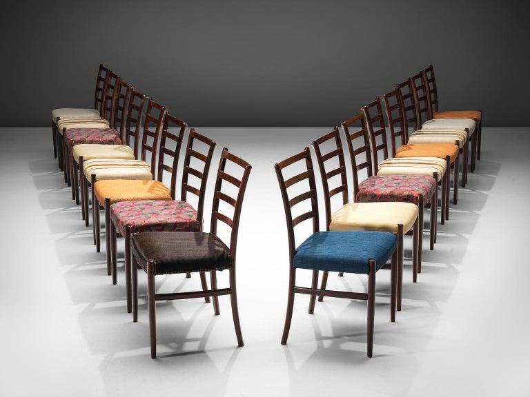 Scandinavian Modern Set of Six Danish Rosewood Dining Chairs