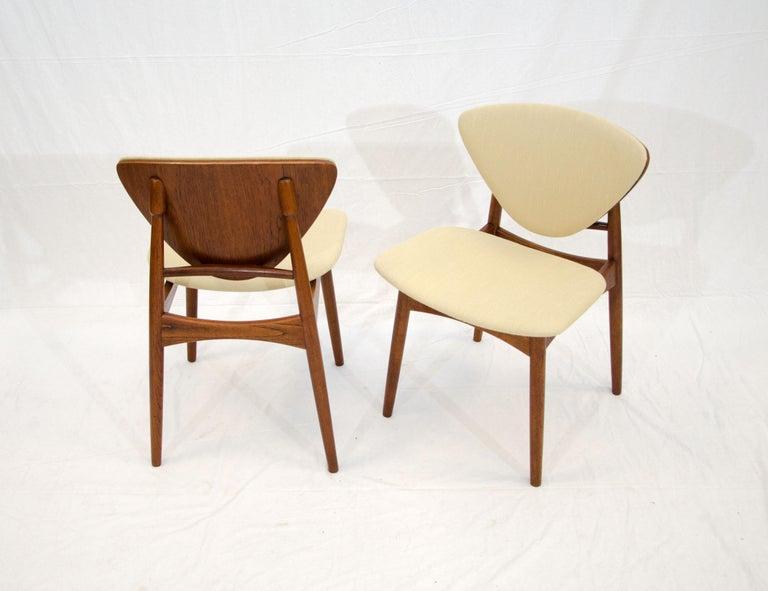 Set of Six Danish Teak Dining Chairs, Arne Hovmand Olsen For Sale 11
