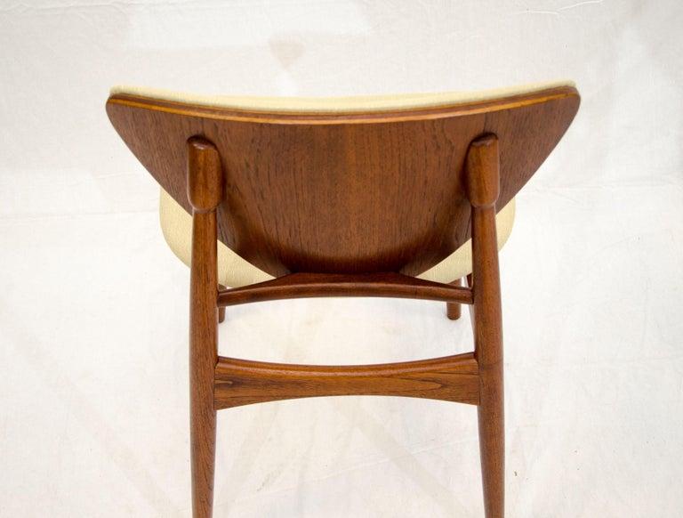 Set of Six Danish Teak Dining Chairs, Arne Hovmand Olsen For Sale 12
