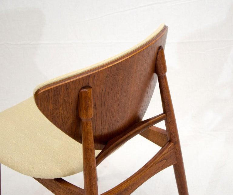 Set of Six Danish Teak Dining Chairs, Arne Hovmand Olsen For Sale 13