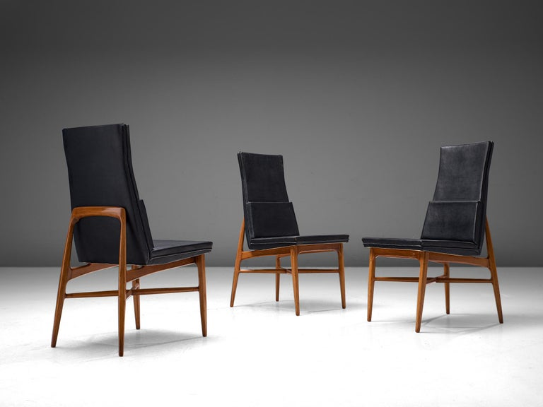 Set of Six De Coene 'Madison' Dining Chairs  For Sale 2