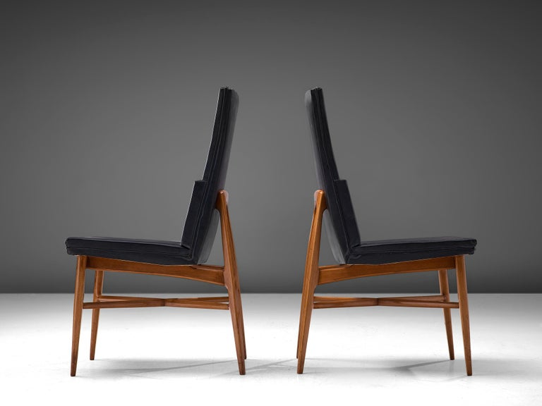 Set of Six De Coene 'Madison' Dining Chairs  For Sale 3