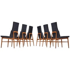 Set of Six De Coene 'Madison' Dining Chairs