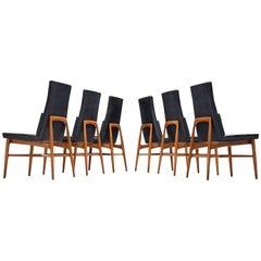 Set of Six De Coene 'Madison' Dining Chairs