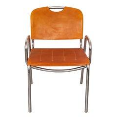 """Set of Six Dining-Armchairs """"Model Castiglia"""" by Achille Castiglioni for Zanotta"""